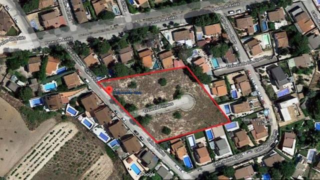 Venta parcela urbana 570m² El Álamo
